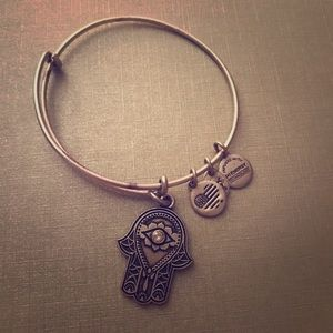 Alex and Ani Hand of Fatima bracelet